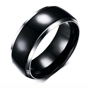 Other - Two Tone Stainless Steel Ring Size 11